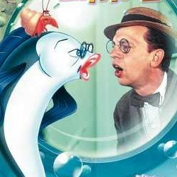 I promise I will address this picture of The Incredible Mr. Limpet in a little bit. Isn't it great though?