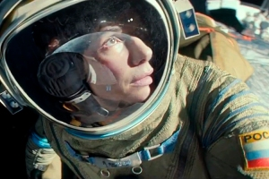 Is she a Russian Cosmonaut in this? Thanks for ruining more things I love, Hollywood (gravitation, they've ruined actual gravitation for me)